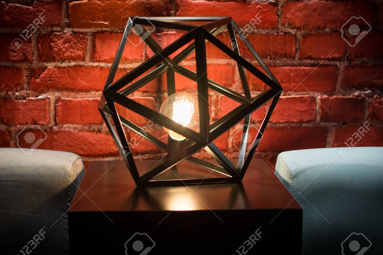 interesting lamp decoration with