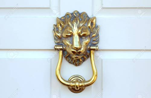 small resolution of old victorian brass lion head door knocker stock photo 98921996