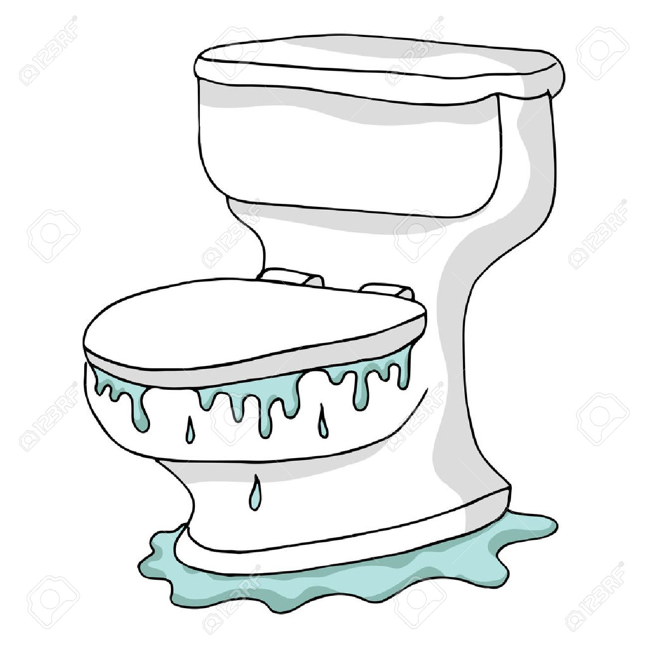 Image result for toilet overflow cartoon