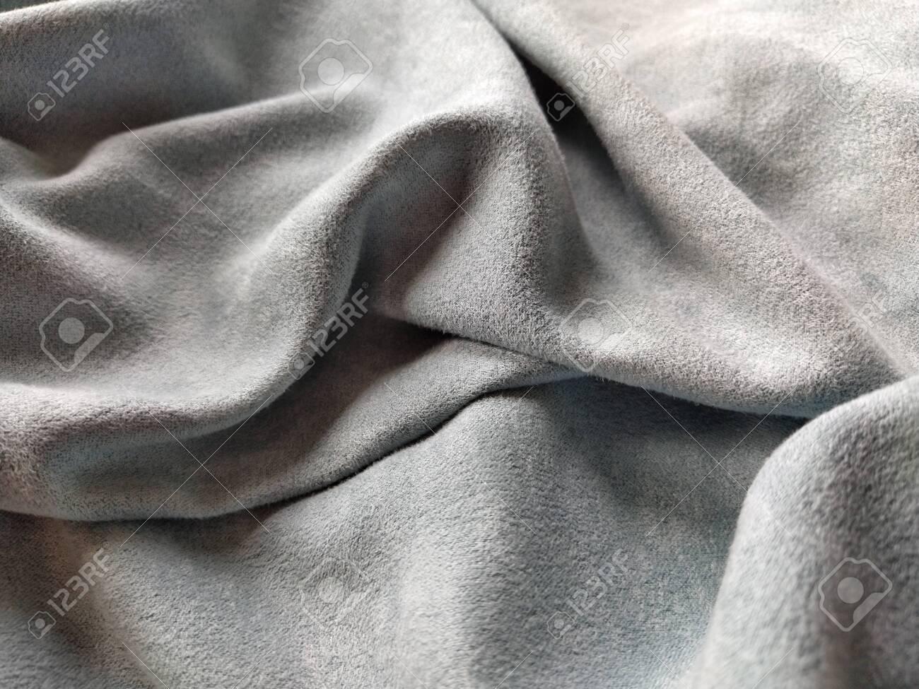 fabric sheer curtain fabric beautiful gray blue color soft