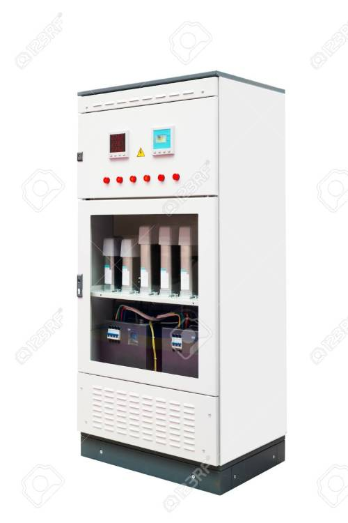 small resolution of electrical enclosure with its door closed could be electrical circuit breaker fuse box