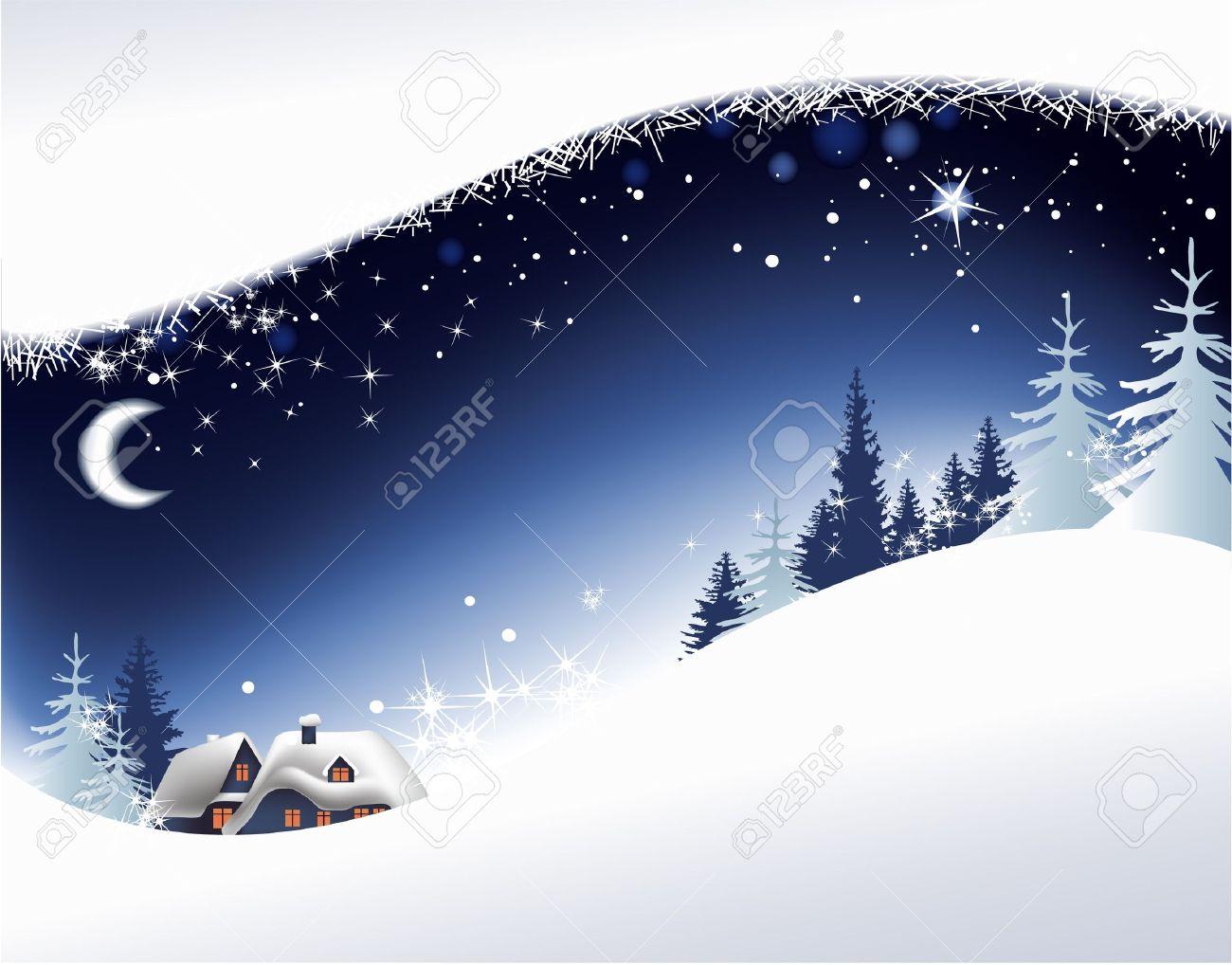 Visualizza altre idee su cartoline di natale, immagini di natale, paesaggi. Vettoriale Paesaggio Di Natale Con Piccola Citta Image 14765649