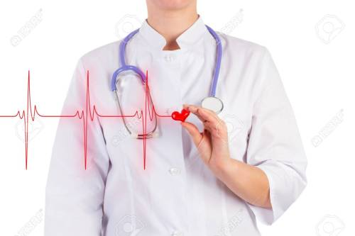 small resolution of stock photo the doctor is holding a toy heart diagram of heart isolated background
