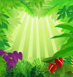 forest background stock vector 9569164 [ 1300 x 1006 Pixel ]