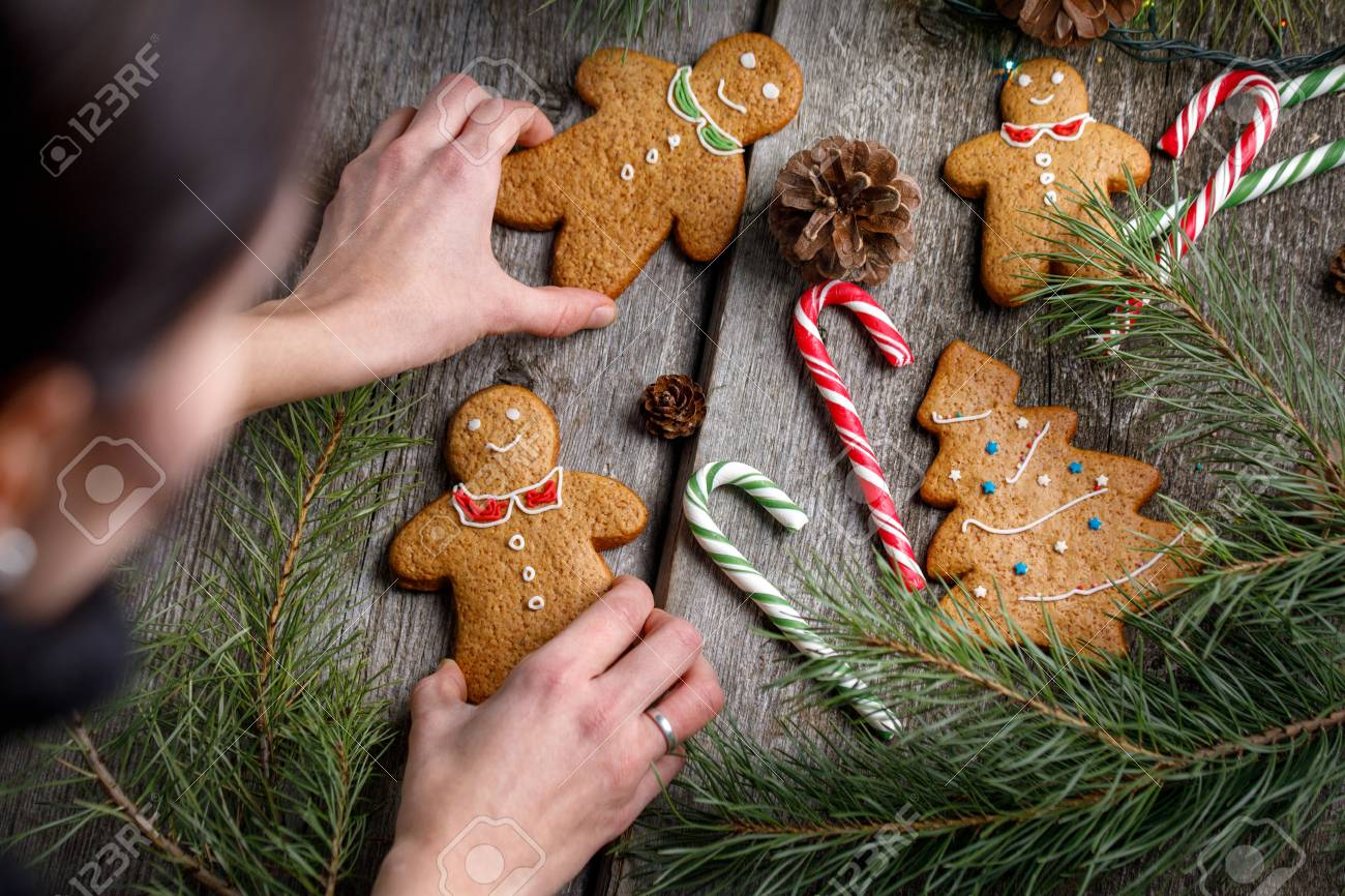 Christmas Gingerbread Men Decorations