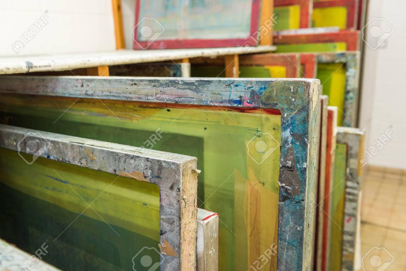 Silk Screen Printing On Wood