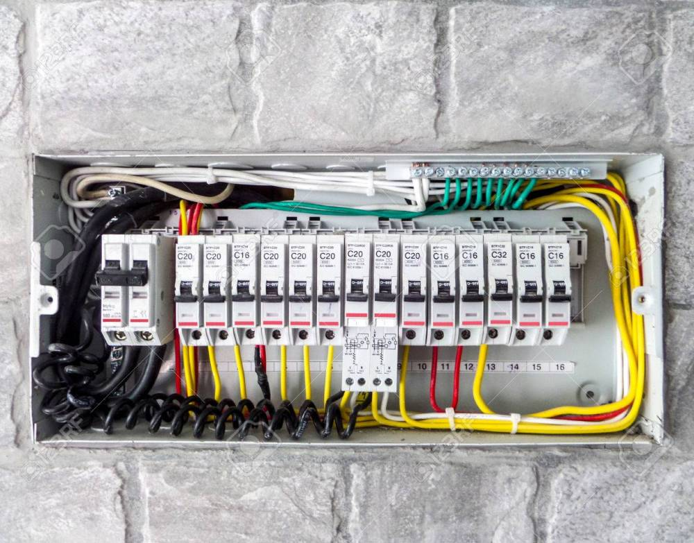 medium resolution of electric main box in the house set up to control and service stock photo 43021973