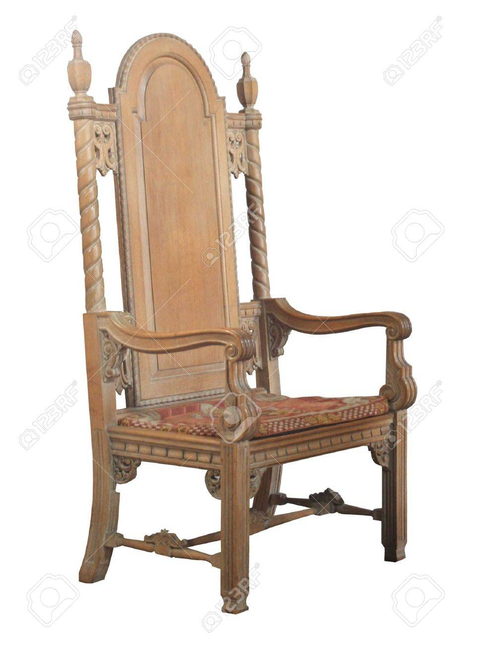 antique wooden chairs pictures chicco high chair cover replacement a large ancient church stock photo picture 5691604