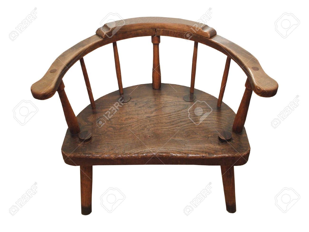 round wooden chair graco blossom high winslet a backed wide antique stock photo picture and 5902331