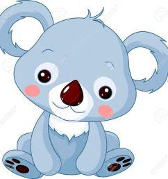 illustration of cute koala bear stock vector 12061278 [ 1297 x 1300 Pixel ]