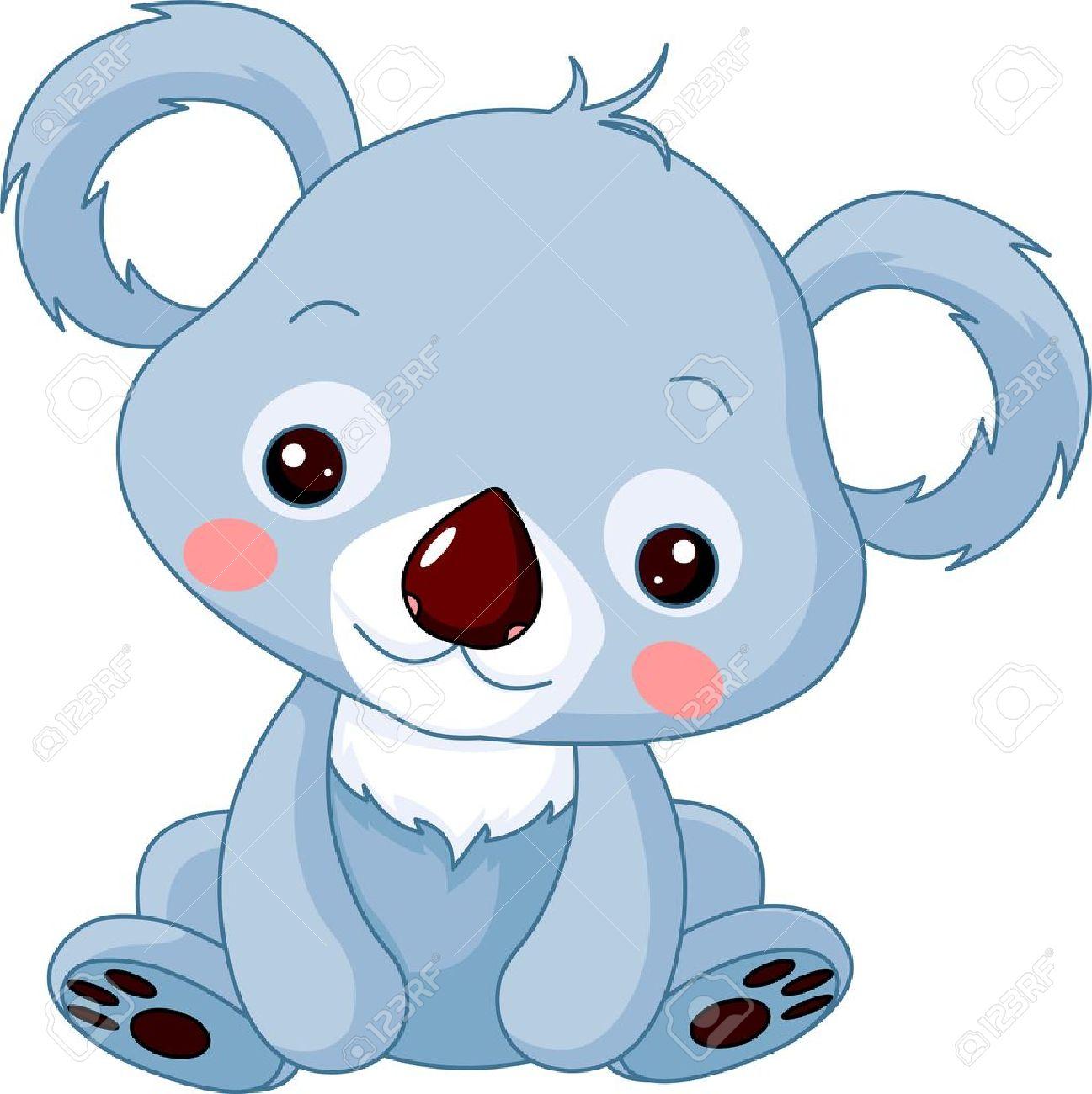 hight resolution of illustration of cute koala bear stock vector 12061278