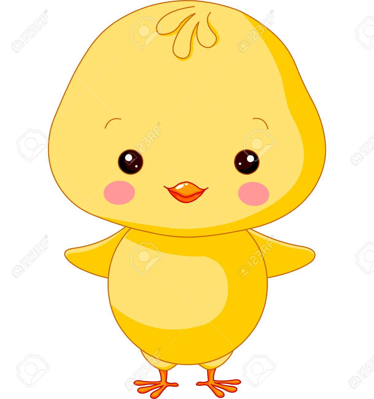 hight resolution of farm animals illustration of cute chick stock vector 27359160