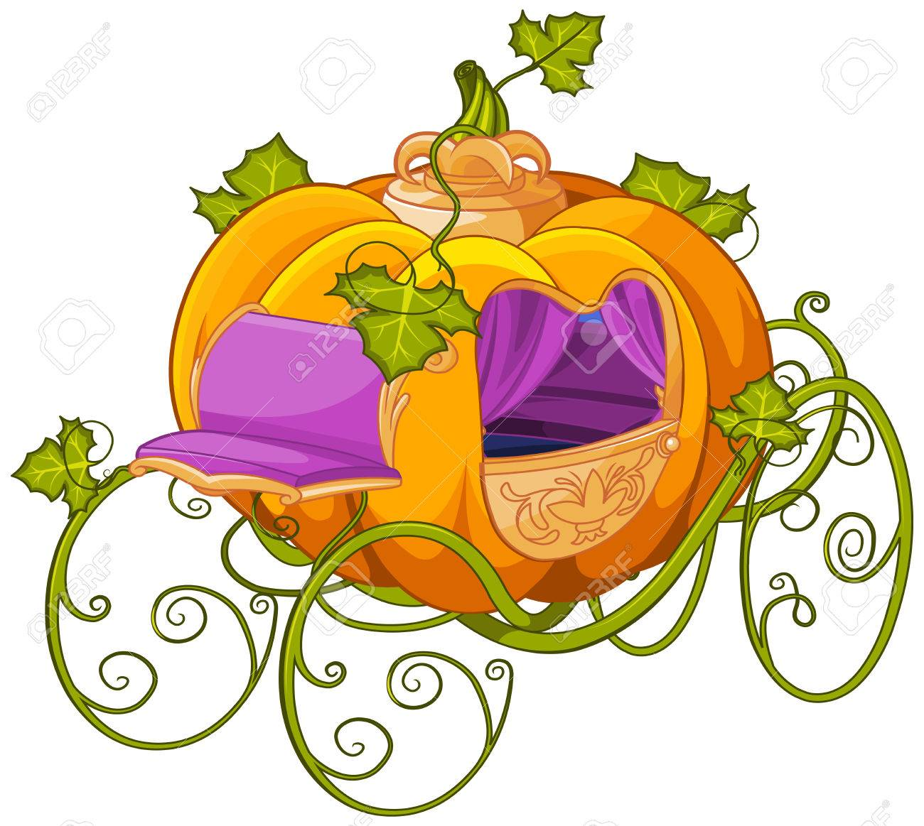 hight resolution of pumpkin turn into a carriage or carriage turn into a pumpkin cinderella illustration