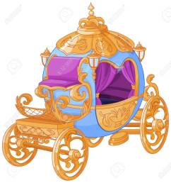 cinderella fairy tale carriage stock vector 69930810 [ 1225 x 1300 Pixel ]