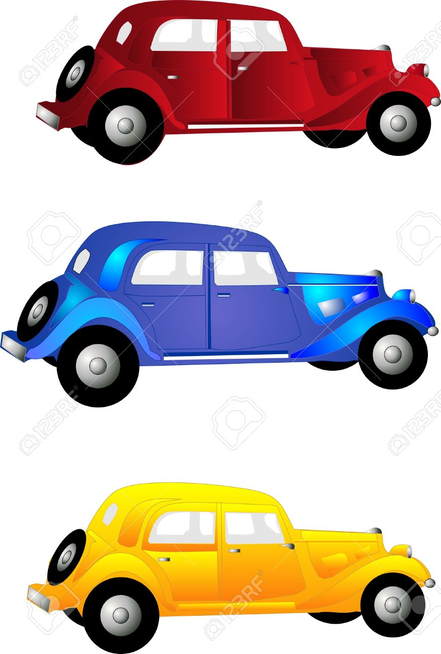 Classic car Clipart and Stock Illustrations. 24,722