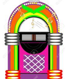retro jukebox illustration stock vector 10038580 [ 1023 x 1300 Pixel ]