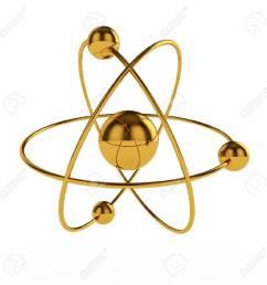 3d illustration of golden atom model isolated on white background stock illustration 13044094 [ 1300 x 1300 Pixel ]