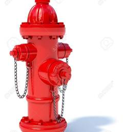 3d illustration of red fire hydrant isolated on white background stock photo [ 975 x 1300 Pixel ]