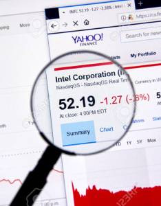 Montreal canada june intel corporation intc ticker with shares price also rh rf