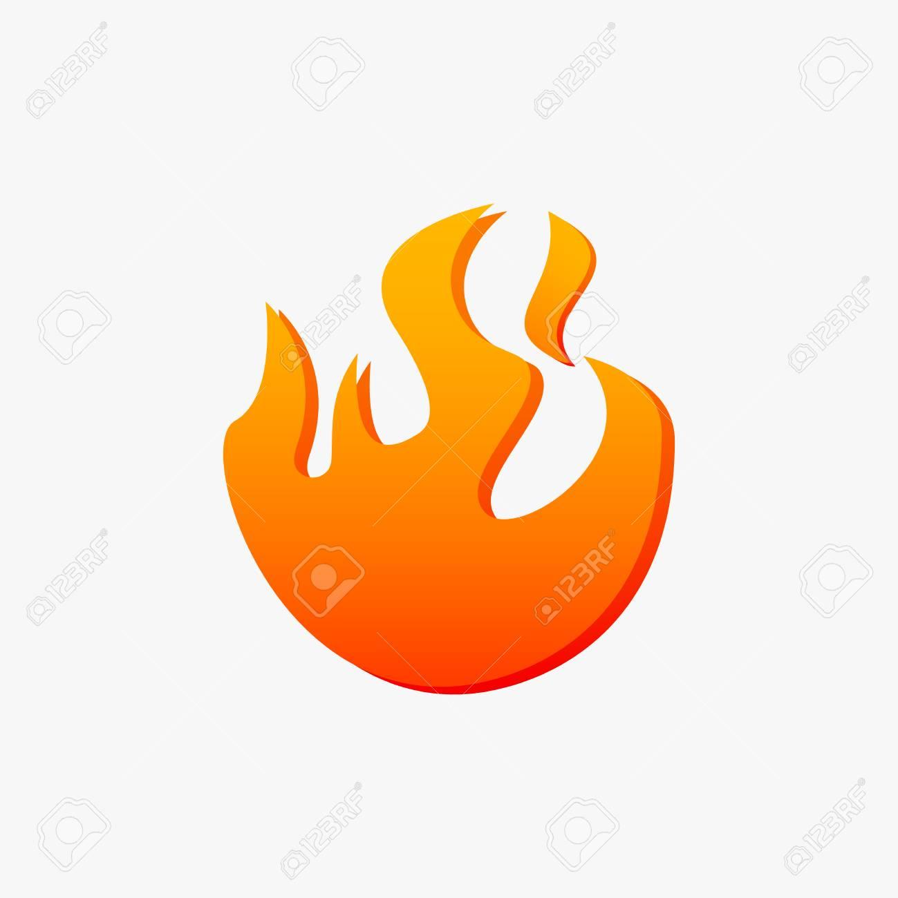 hight resolution of ignite vector fireball icon stock vector 114438121