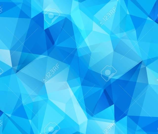 Blue Modern Geometrical Abstract Background Triangular Backdrop Bright Wallpaper Geometric Texture Stock