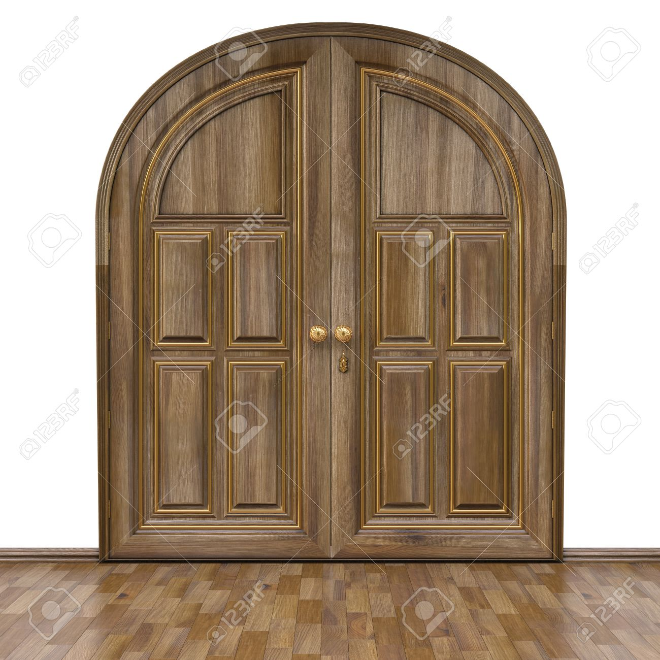 Walnut Color Door