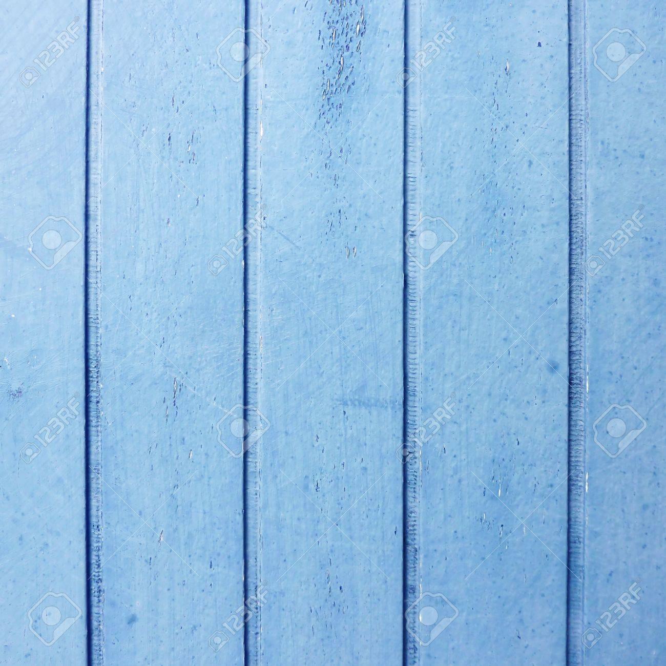 Holzleisten Blau Lackiert, Alte Tür-Detail Lizenzfreie Fotos, Bilder