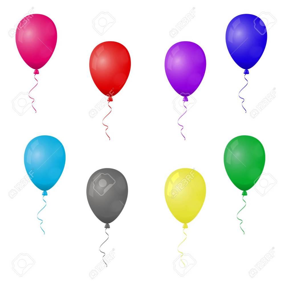 medium resolution of balloon cliparts colorful stock vector 94983220