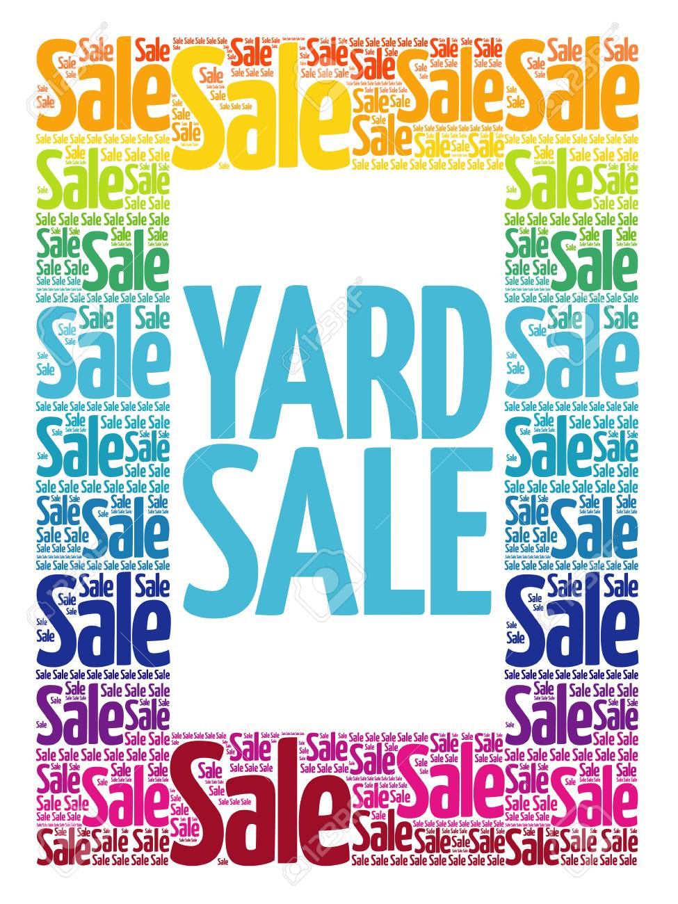 Yard Sale Images Free : images, Words, Cloud,, Business, Concept, Background, Royalty, Cliparts,, Vectors,, Stock, Illustration., Image, 93778032.