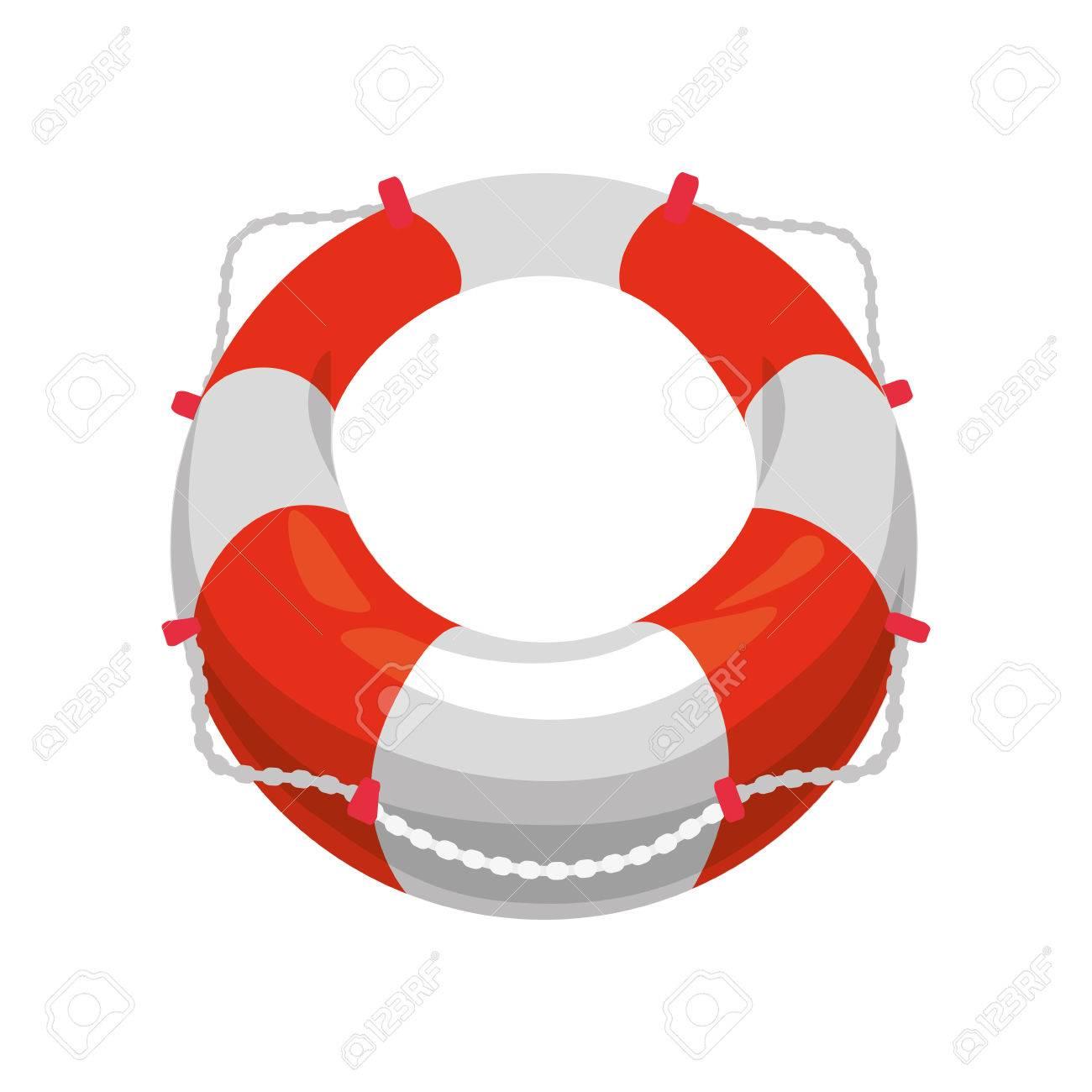 nautical life ring icon