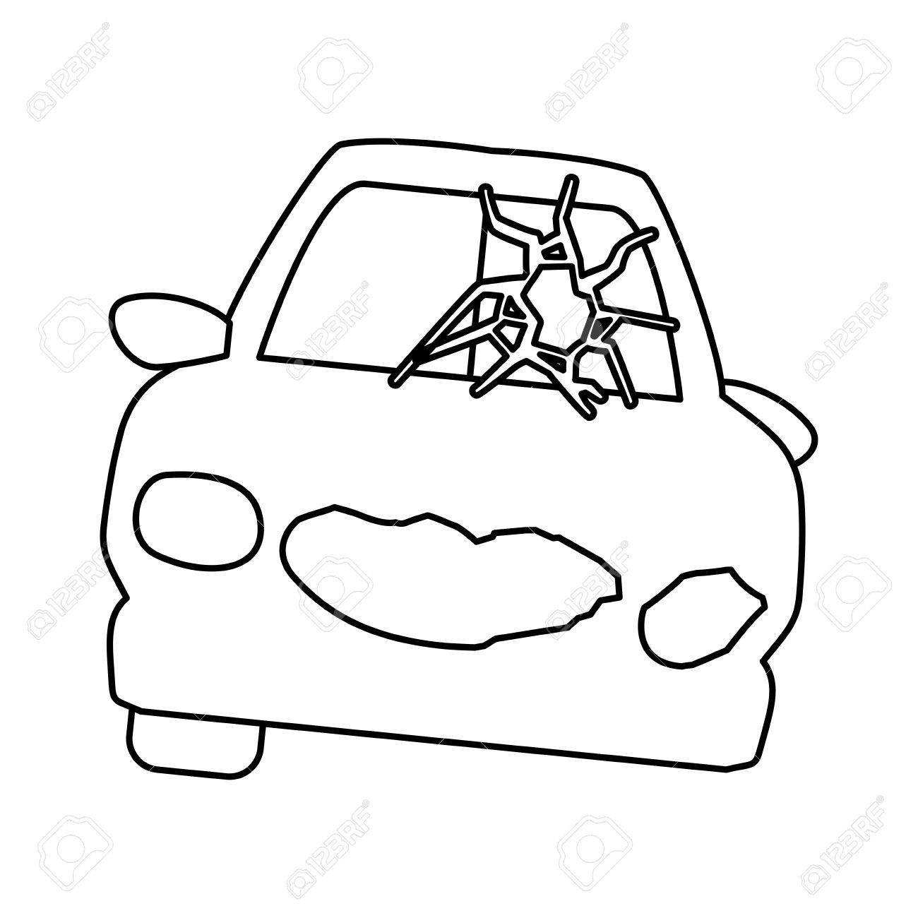 Charming car crash drawing gallery electrical system block diagram