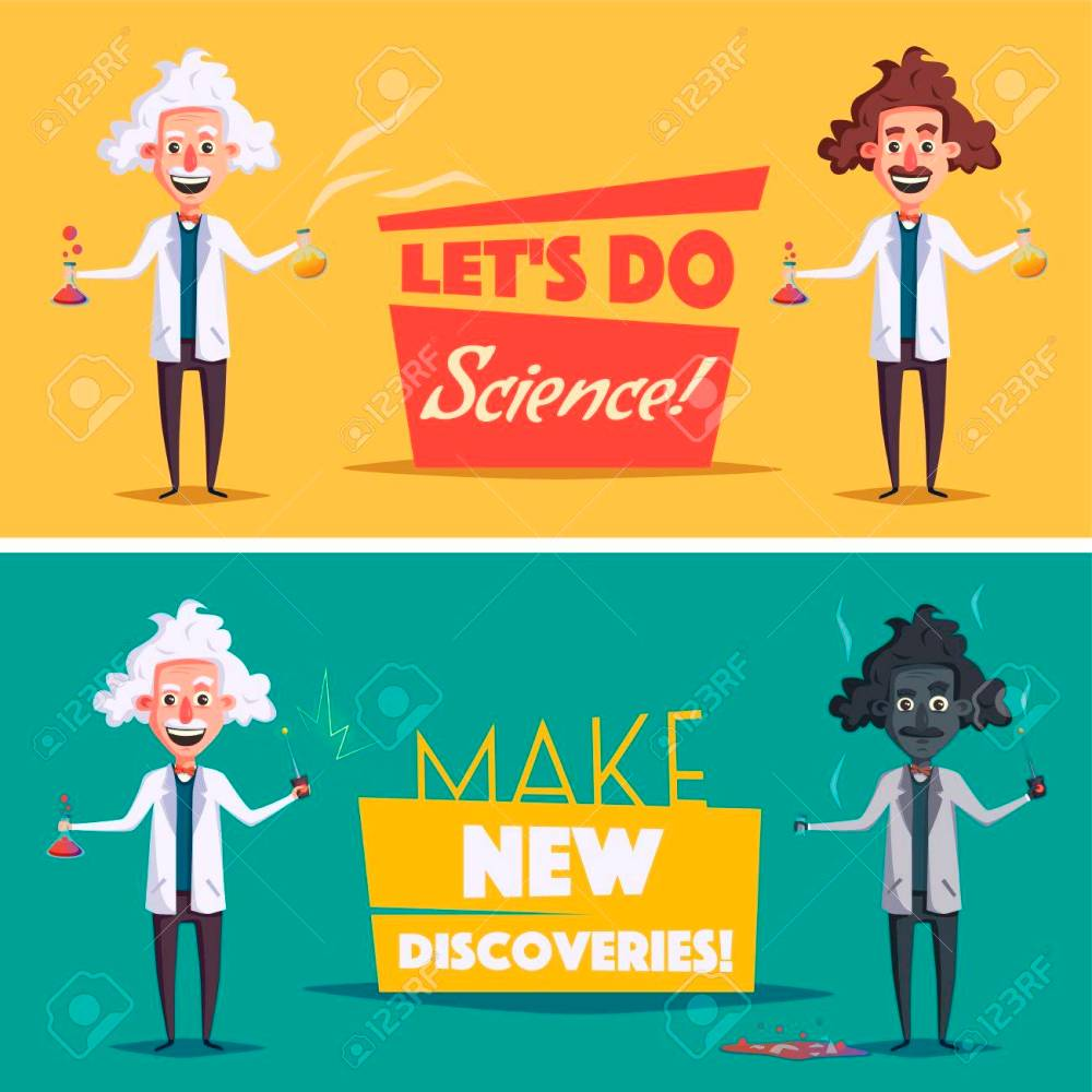 medium resolution of photo stock vector crazy old scientist funny character cartoon vector illustration mad professor science experiment rem