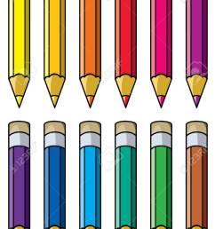 vector vector colourful pencils clipart [ 921 x 1300 Pixel ]