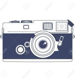 vector vintage camera vector clipart art [ 1300 x 1300 Pixel ]
