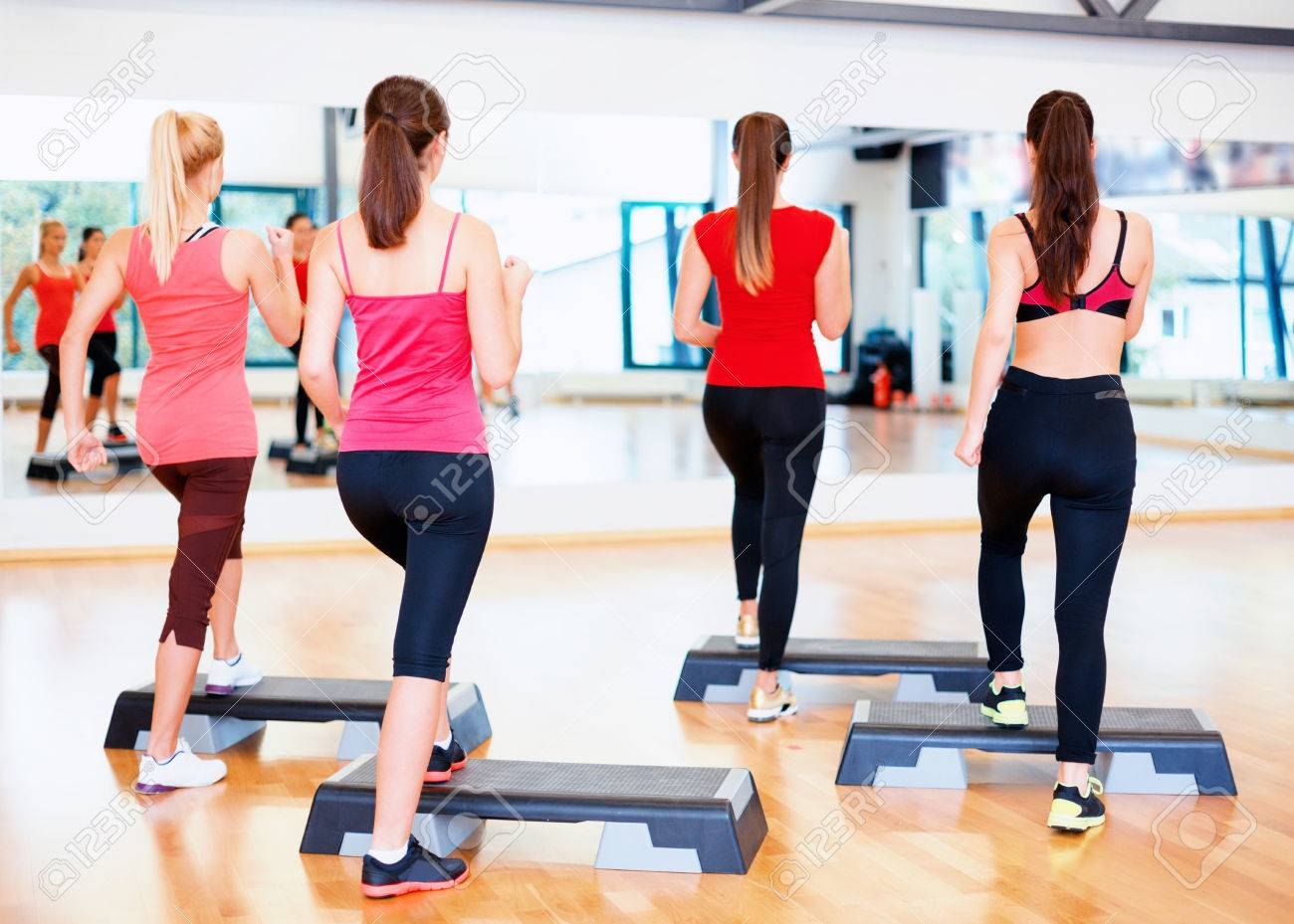 Fitness Sport Training Gym And Lifestyle Concept Group Of Stock Photo Picture And Royalty Free Image Image 28139964
