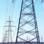 High Voltage Power Transmission Line Towers With Insulators Stock Photo Picture And Royalty Free Image Image 144989489