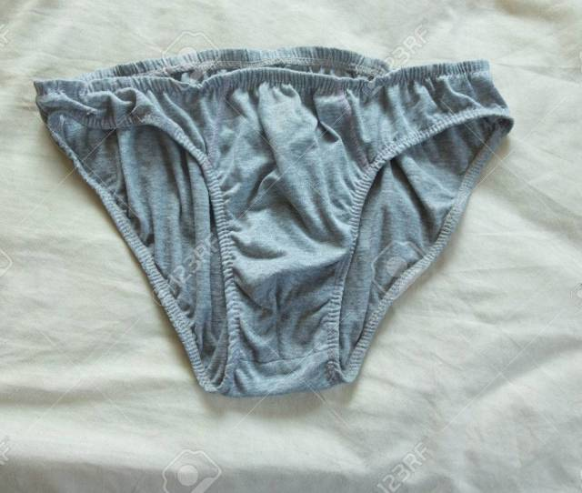 Close Up Weathered And Decayed Dirty Underwear For Men Stock Photo 57184648