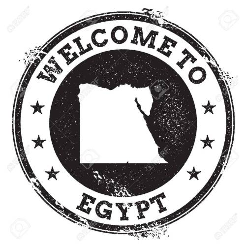 small resolution of vector vintage passport welcome stamp with egypt map grunge rubber stamp with welcome to egypt text vector illustration