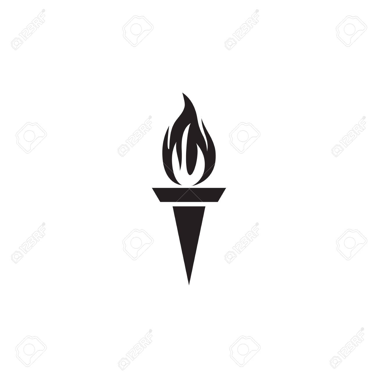 torch design inspiration vector