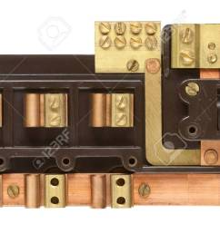 wrg 3714 old murray fuse boxinside an old fuse box isolated on white with clipping [ 1300 x 744 Pixel ]