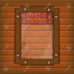 Cover Template Restaurant Menu Background Wooden Frame And Glass Royalty Free Cliparts Vectors And Stock Illustration Image 96206456