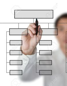 Business man drawing organization chart on white board stock photo also rh rf