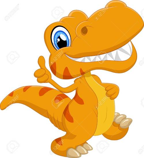 small resolution of cute dinosaur cartoon