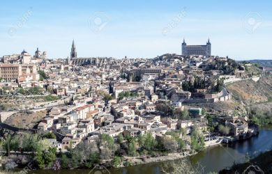 View Of The Spanish City Of Toledo Seen From The Gothic Cathedral Stock Photo Picture And Royalty Free Image Image 13801373