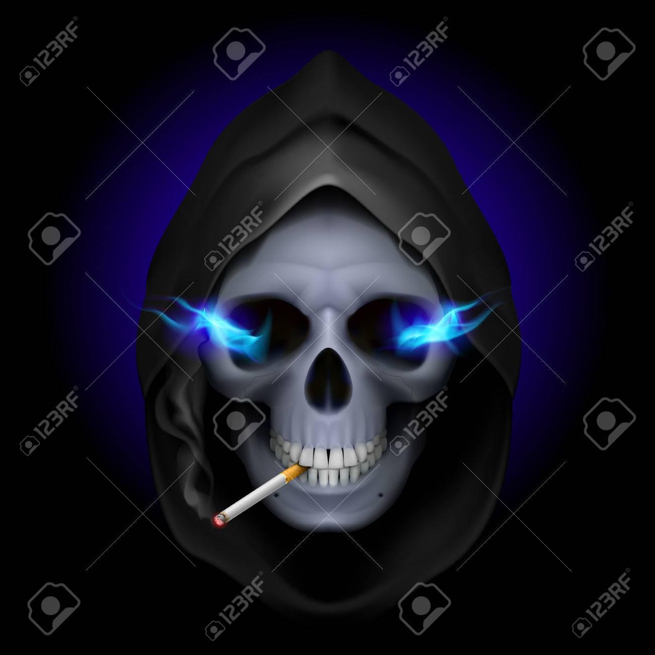 smoking kills death image