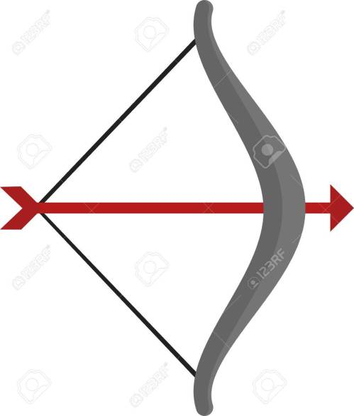 small resolution of archery arrow bow sports icon vector image can also be used for