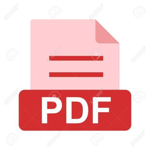 small resolution of pdf file icon stock vector 45612375