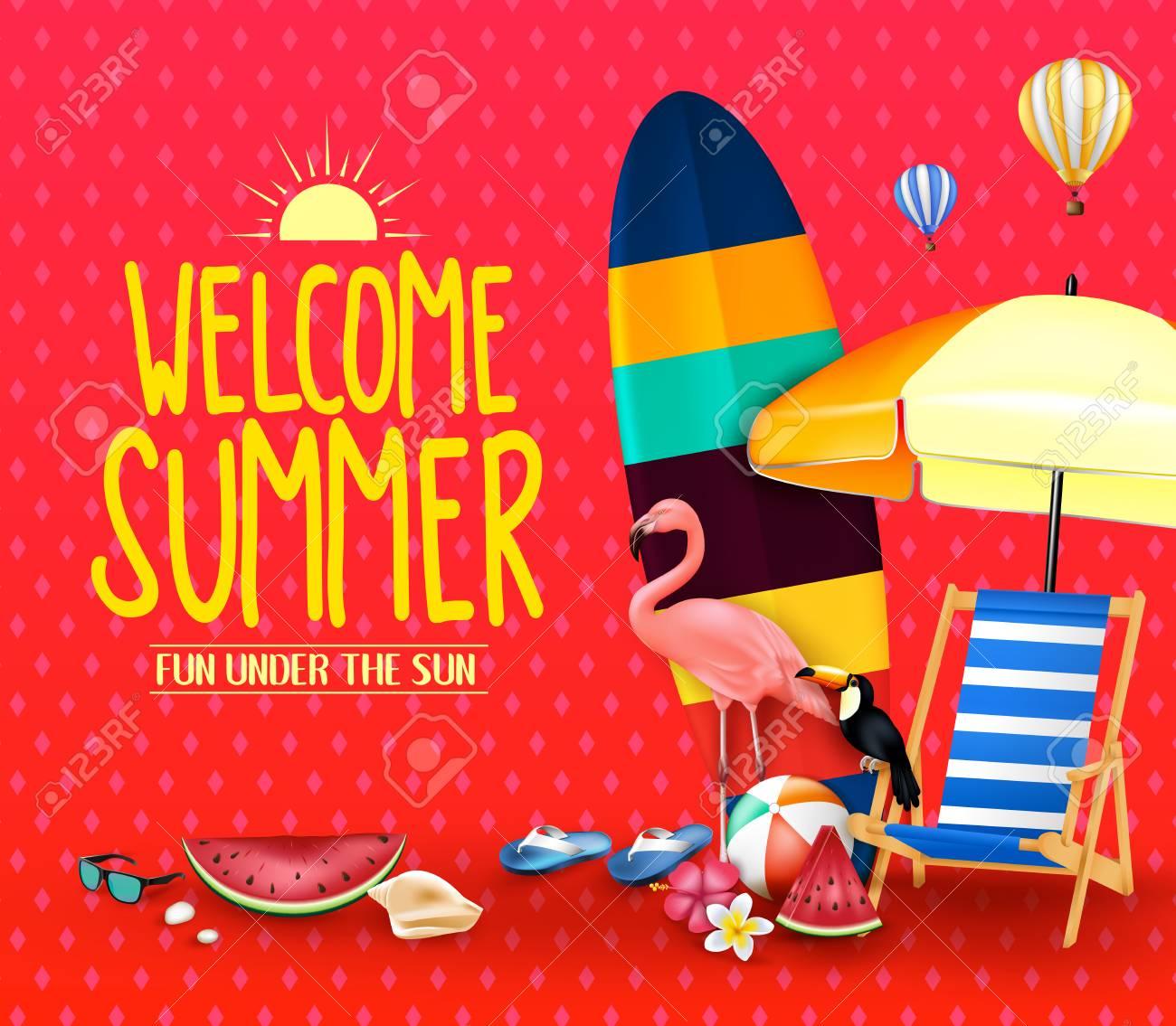 welcome summer fun under