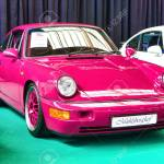 Friedrichshafen May 2019 Pink Porsche 911 964 Rs Carrera 1992 Stock Photo Picture And Royalty Free Image Image 128621230