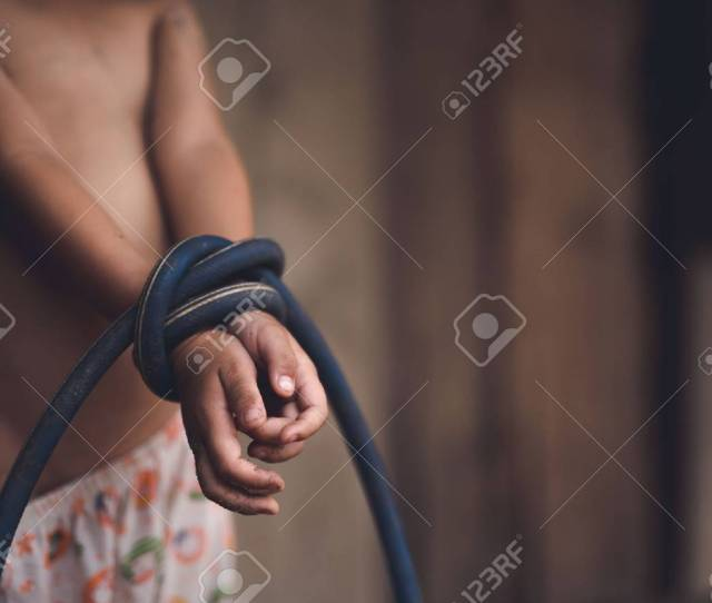 Child Violence And Abused Concept Trafficking Concept Stop Violence Against Child And Womens